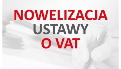 """PRACOWNIA INTERNETOWA """"PINT"""" Nowak Artur - Nowelizacja stawek VAT"""