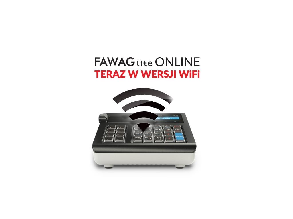 """PRACOWNIA INTERNETOWA """"PINT"""" Nowak Artur - Kasa fiskalna FAWAG Lite Online teraz w wersji Wi-Fi"""
