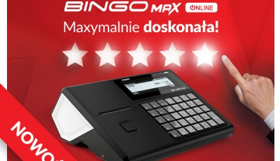 """PRACOWNIA INTERNETOWA """"PINT"""" Nowak Artur - Nowa kasa w ofercie Posnet - Bingo Max Online"""