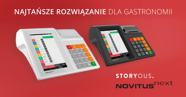 """PRACOWNIA INTERNETOWA """"PINT"""" Nowak Artur - Współpraca Storyous i Novitus"""