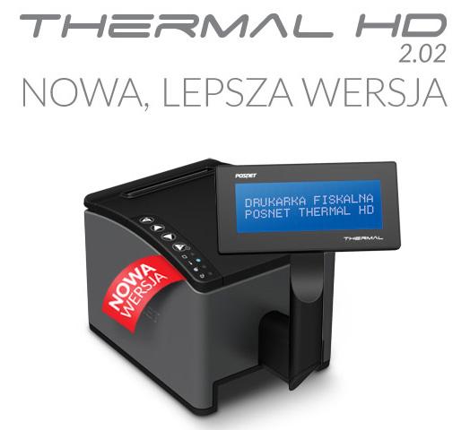 """PRACOWNIA INTERNETOWA """"PINT"""" Nowak Artur - Nowa wersja drukarki fiskalnej Posnet Thermal HD"""