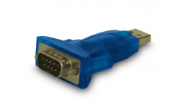 Adapter SAVIO cl-22 (USB M - DB9 M;kolor niebieski)