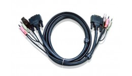 ATEN 2L-7D03U Kabel DVI/USB + Audio 3.0m