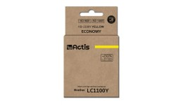 Tusz Actis KB-1100Y (do drukarki Brother,zamiennik LC980/LC1100HY/LC65HY standard 12ml yellow)