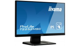 Monitor IIYAMA ProLite T2252MSC-B1 (21,5 cal;IPS LED;FullHD 1920x1080;DisplayPort,HDMI;kolor czarny)