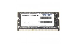 Pamięć RAM Patriot Memory Signature PSD34G1600L2S (DDR3 SO-DIMM;1 x 4 GB;1600 MHz;CL11)