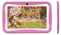 Tablet BLOW KidsTAB7.4 quad różowy +etui