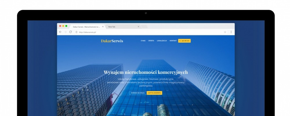Strony WWW Wynajem nieruchomości komercyjnych
