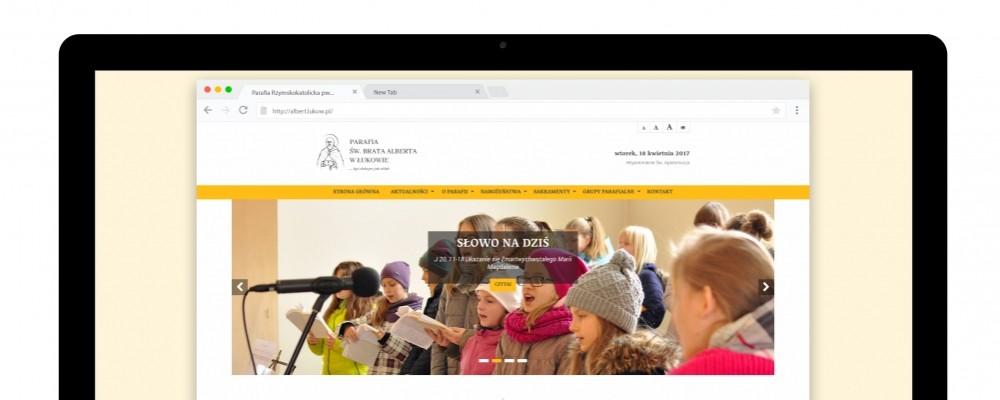 Strony WWW Parafia św. Brata Alberta w Łukowie